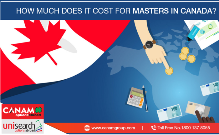 How Much Does it Cost For Masters in Canada