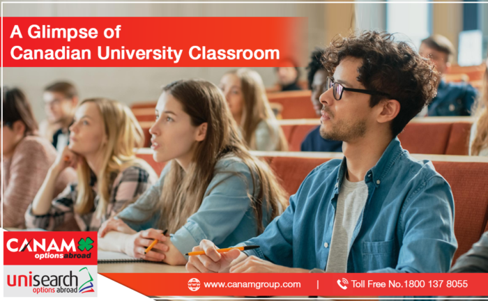 A Glimpse of Canadian University Classroom