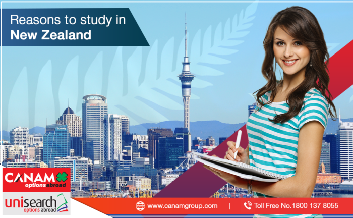 Reasons to study in New Zealand