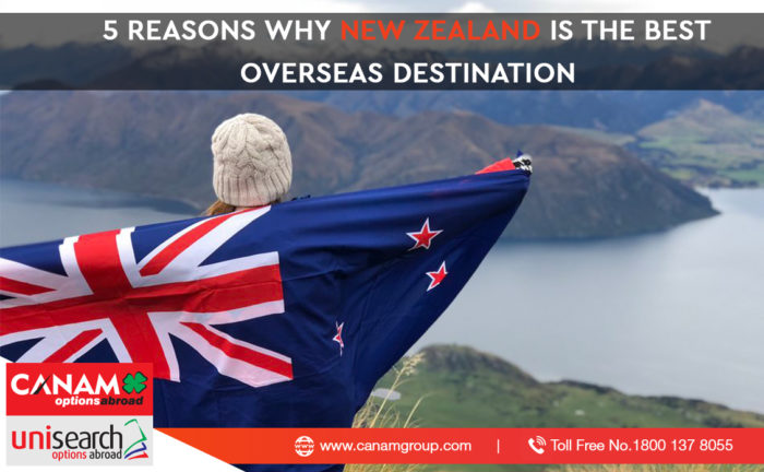 5 reasons why New Zealand is the Best Overseas Destination