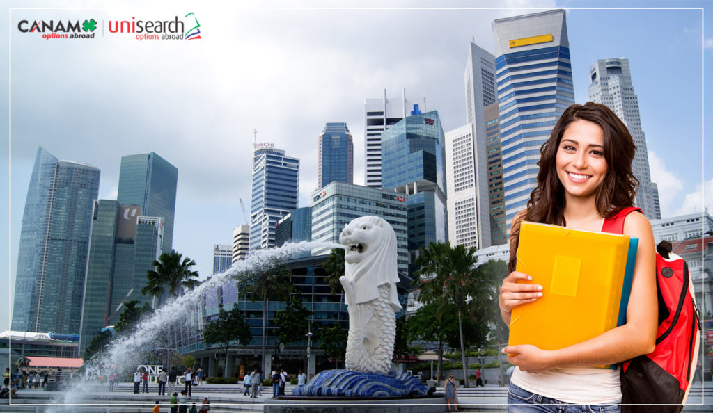 What makes Singapore a hotspot for studying abroad