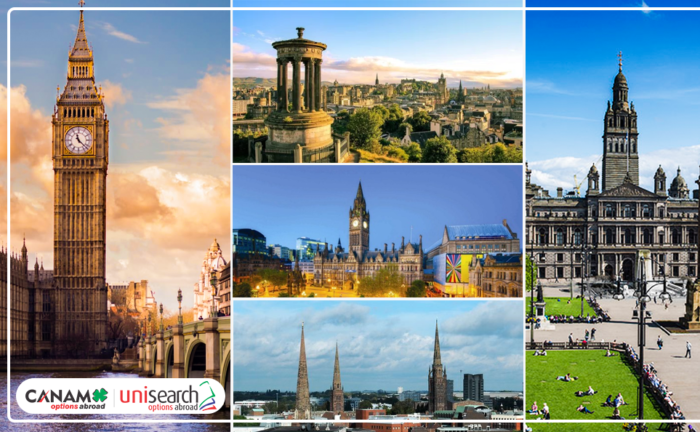Best Cities in the UK for International Students