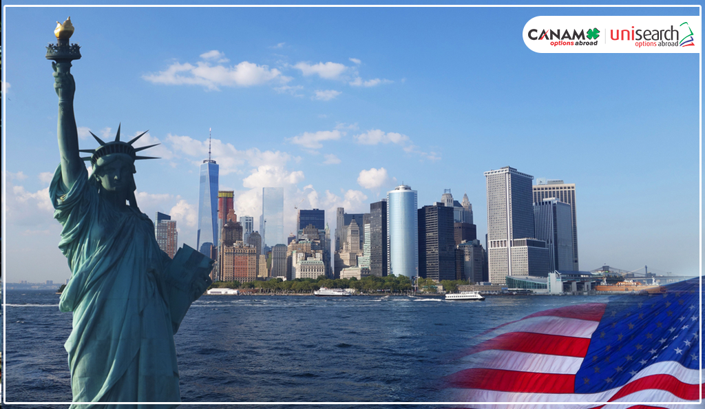 The United States of America is Considered to Be a Land of Opportunities.