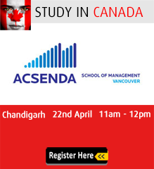 Study in Acsenda School of Management
