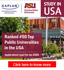 Study in Arizona State University