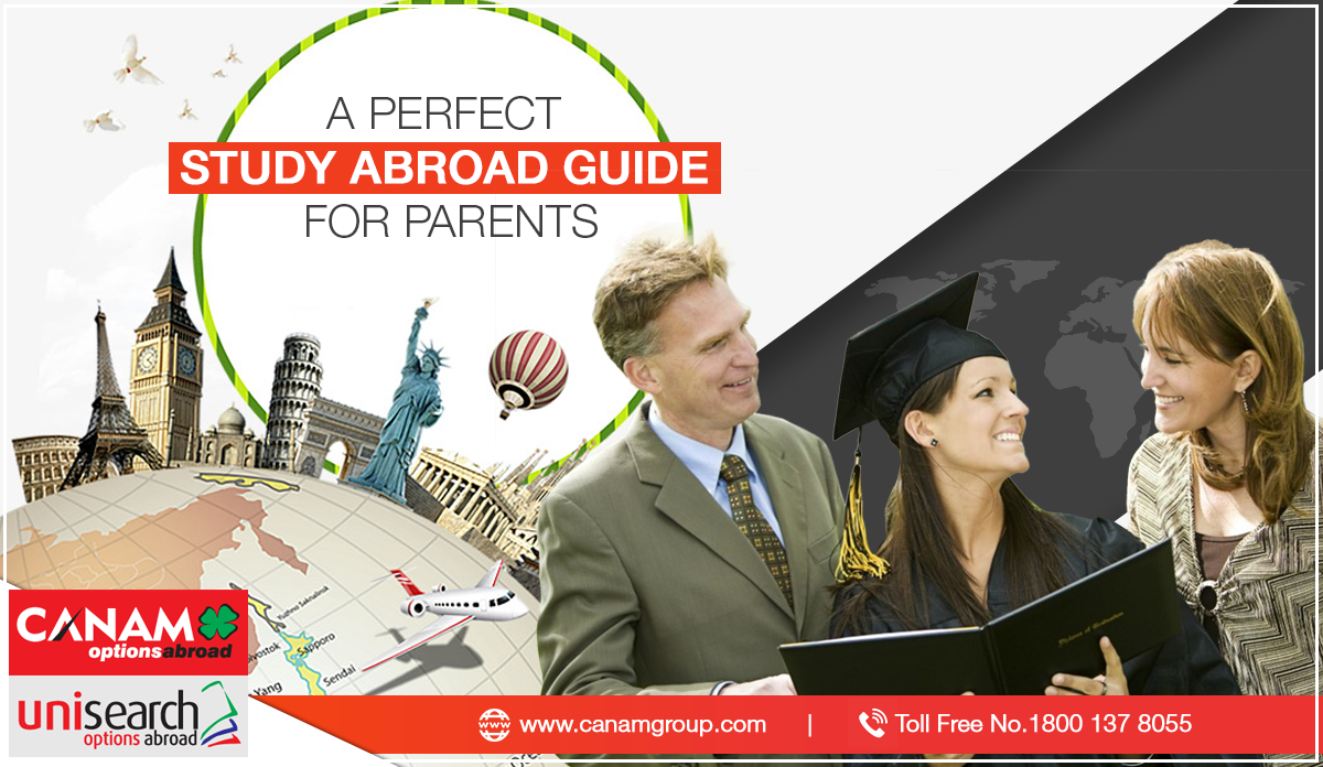 A Perfect Study Abroad Guide for Parents
