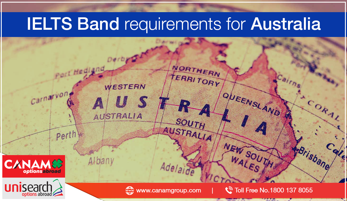 IELTS Band Requirements for Australia