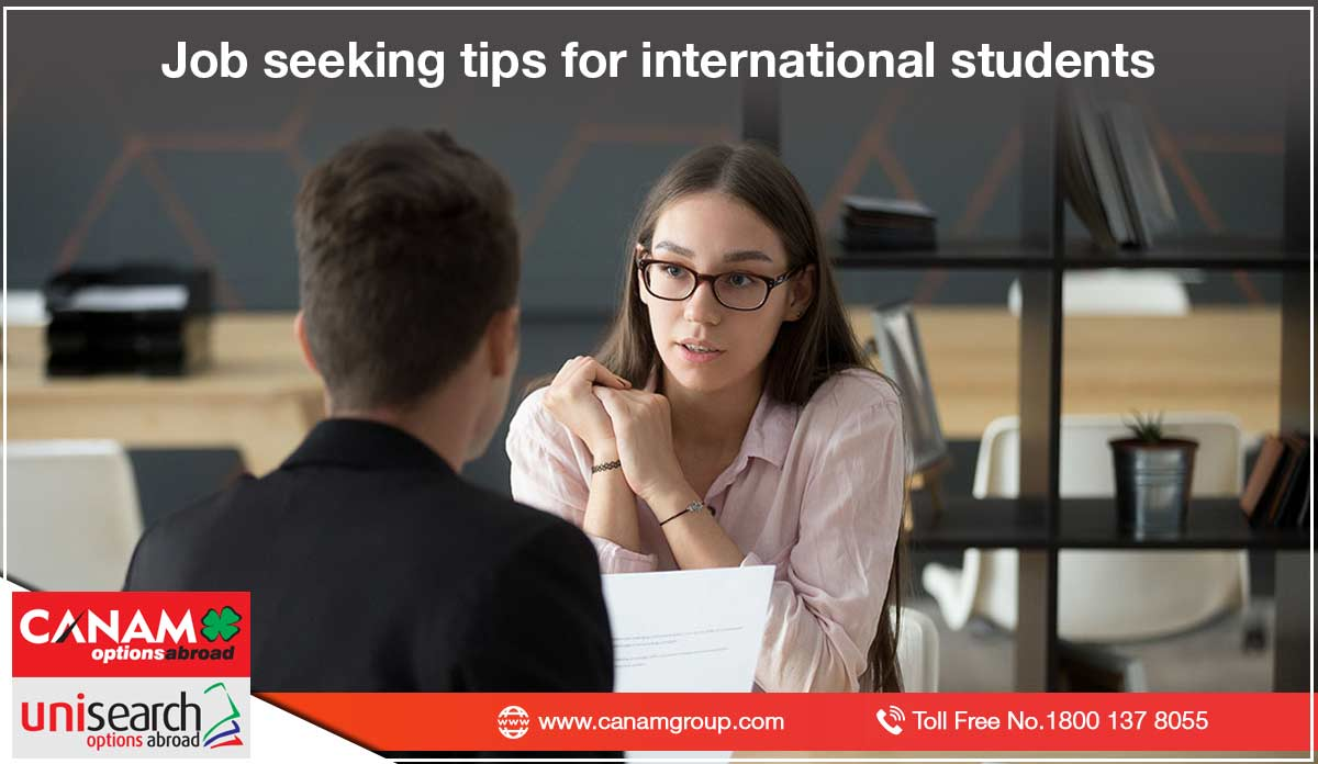Job seeking tips for international students
