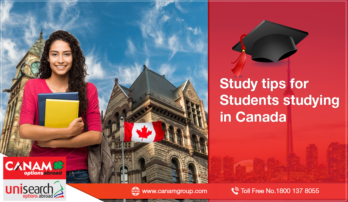 Study tips for Students studying in Canada
