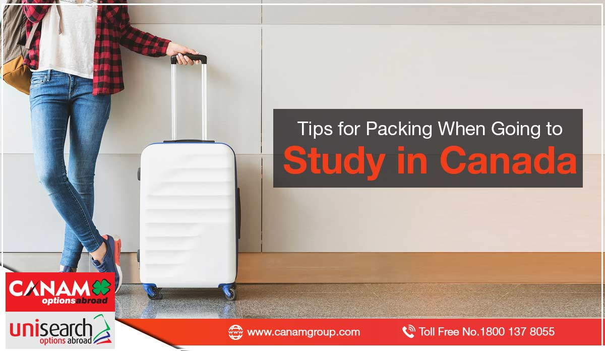 Tips for Packing When Going to Study in Canada