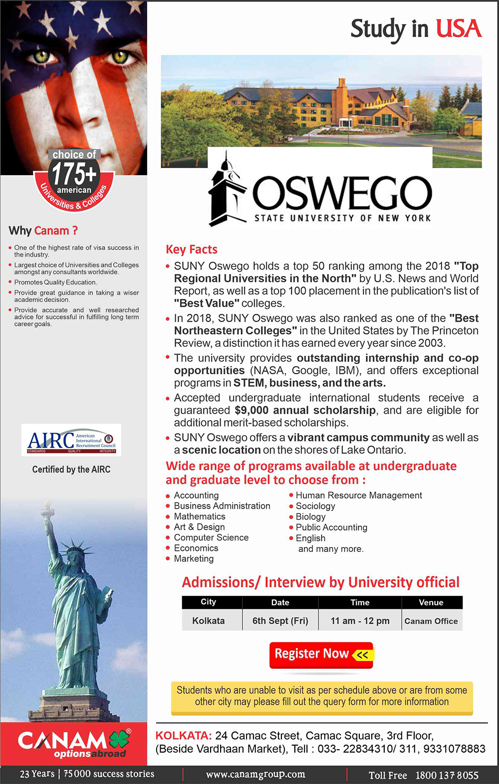 study-in-state-university-of-new-york-at-oswego