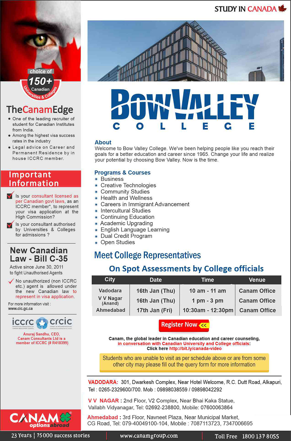 study-in-bow-valley-college